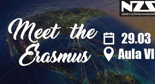 Meet the Erasmus – spotkanie informacyjne o wymianach